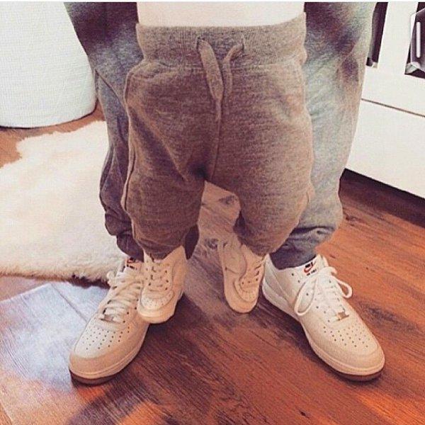 clothing, footwear, brown, floor, leg,