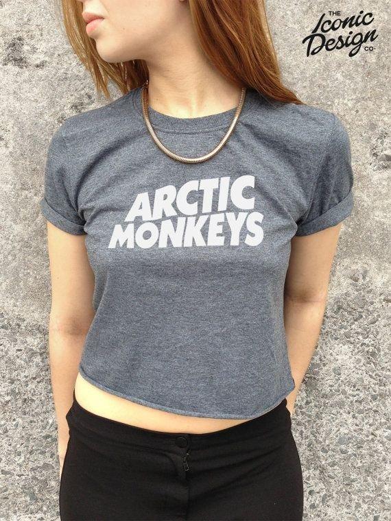 Arctic Monkeys Crop Top Tank