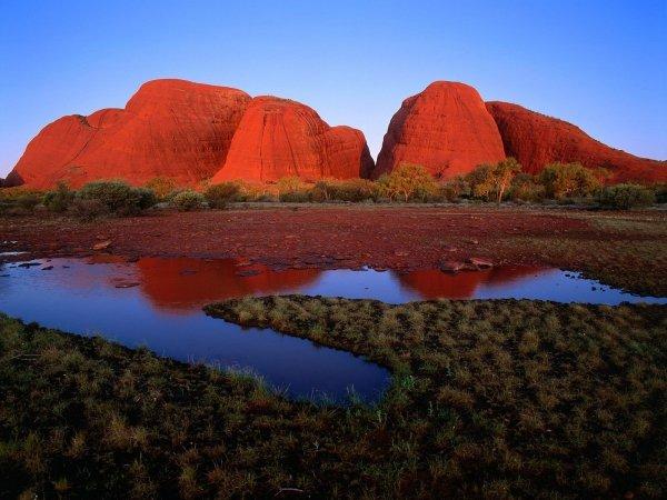 Uluru and Kata Tjuta, Northern Territory, Australia