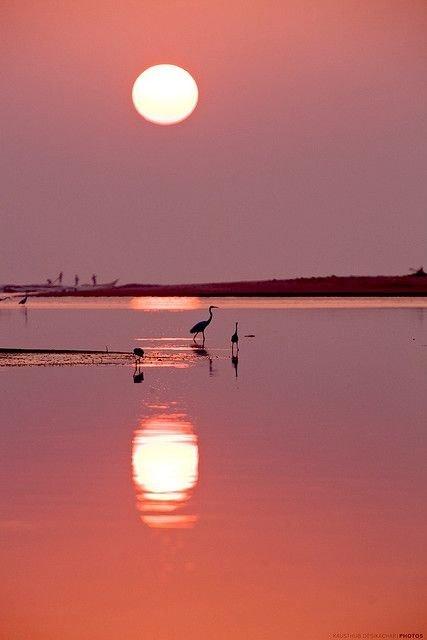 Sunset, Kovalam
