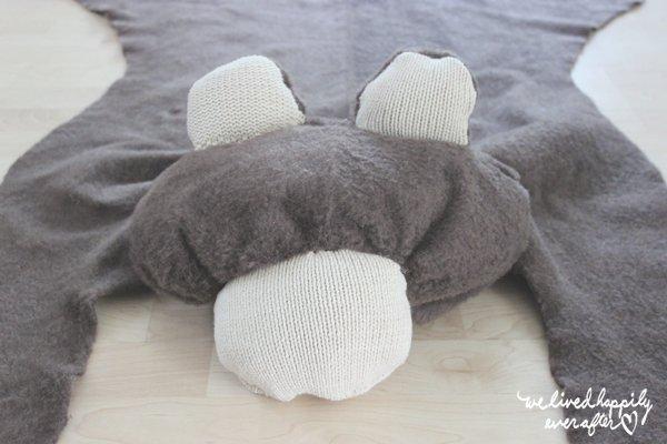 Faux Bear Rug
