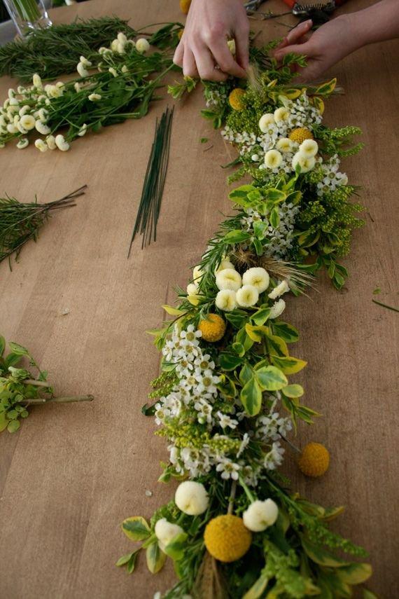 DIY Fresh Floral Garland Tutorial - for Swags or Garlands