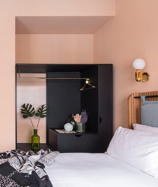 Bedroom, Furniture, Bed, Room, Interior design,