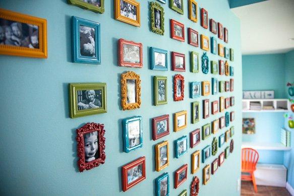 Colorful Mini Picture Frames