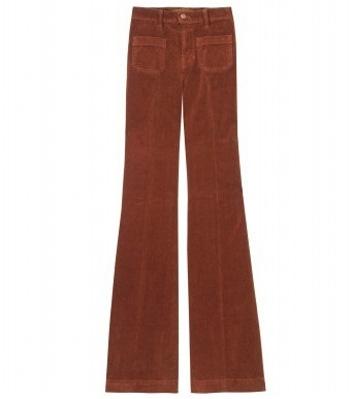J Brand Cord Bellbottom Trousers