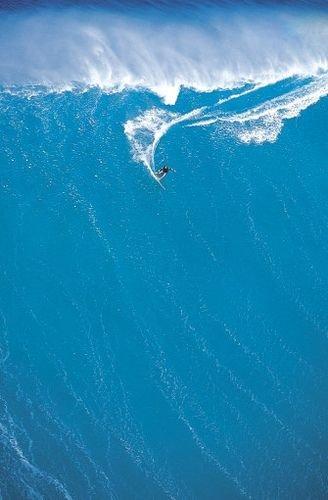 Surfing Big Waves