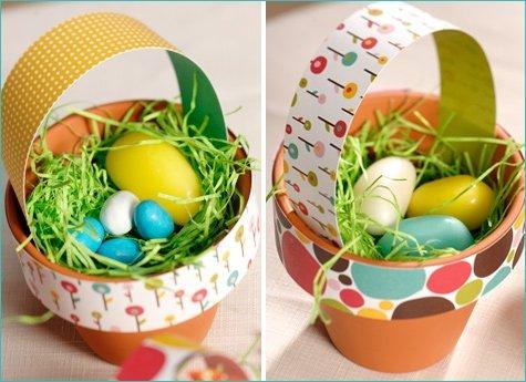 Terracotta Baskets