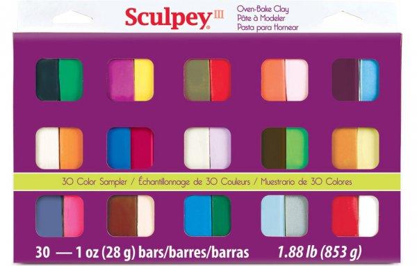 III Polymer Clay Color Sampler, Multicolor