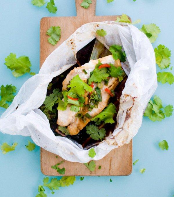 Thai Fish Fillets 'en Papillote'