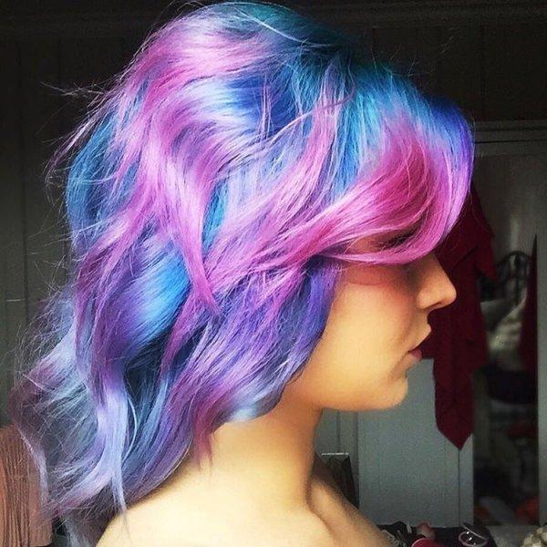 Her Galaxy Hair