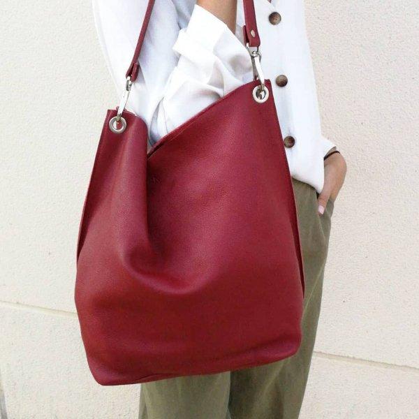 bag, handbag, white, pink, shoulder,
