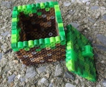 Perler Bead Trinket Box