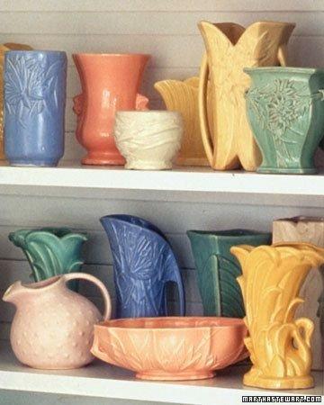 Shelves of Vases
