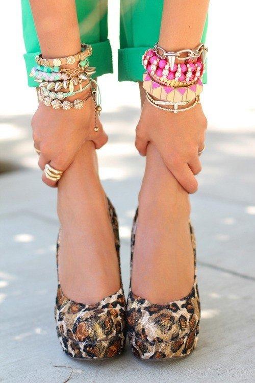 Armful of Bracelets