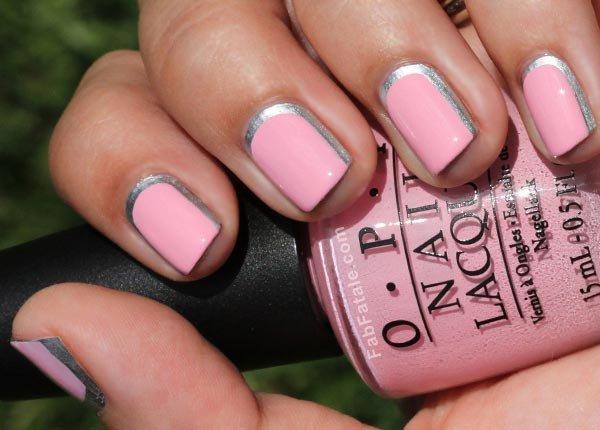 nail, pink, finger, nail care, nail polish,