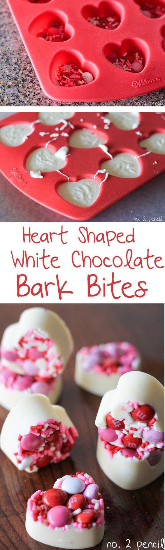 White Chocolate Bark