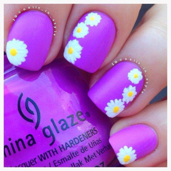 China Glaze,color,purple,violet,nail,