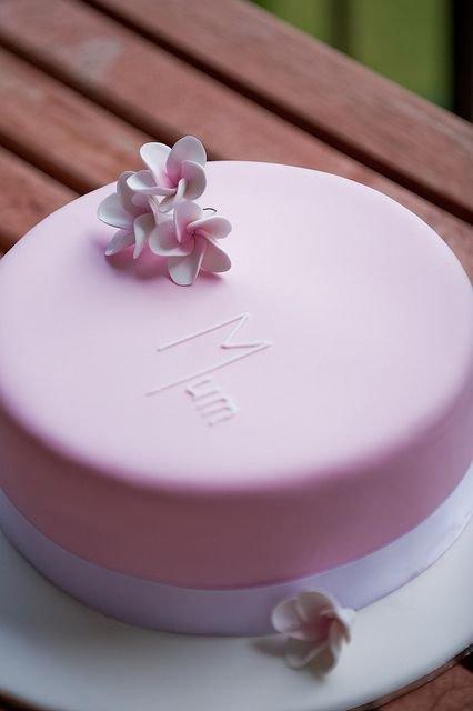 Frangipani Mothers' Day Cake