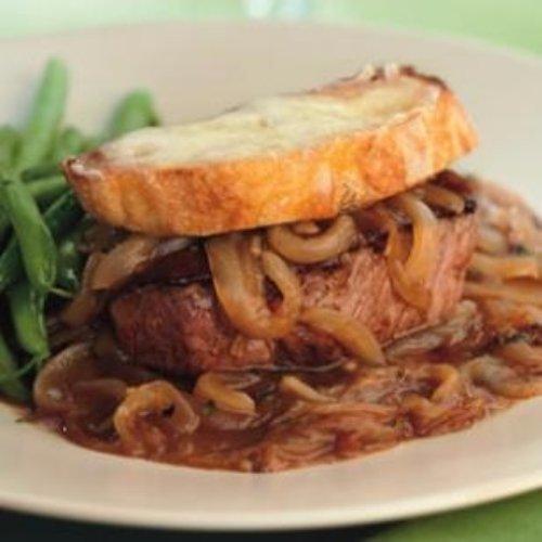 French Onion Beef Tenderloin