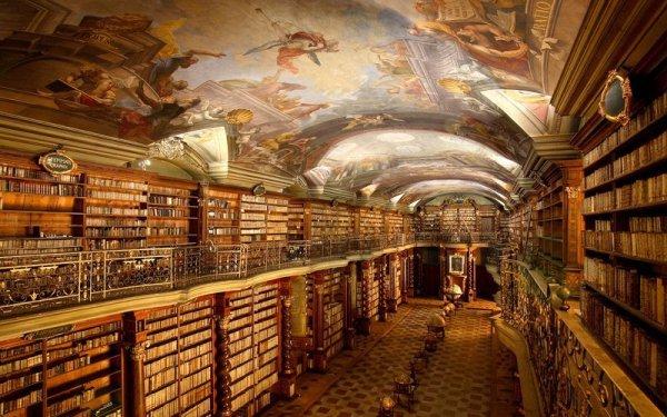 library, public library, wine cellar, building,