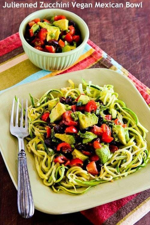 Zucchini Mexican Bowl