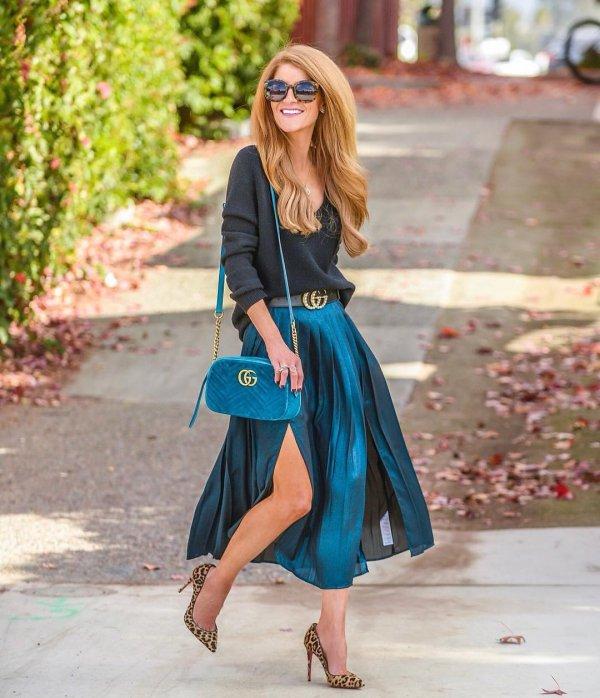 Clothing, Street fashion, Blue, Turquoise, Cobalt blue,