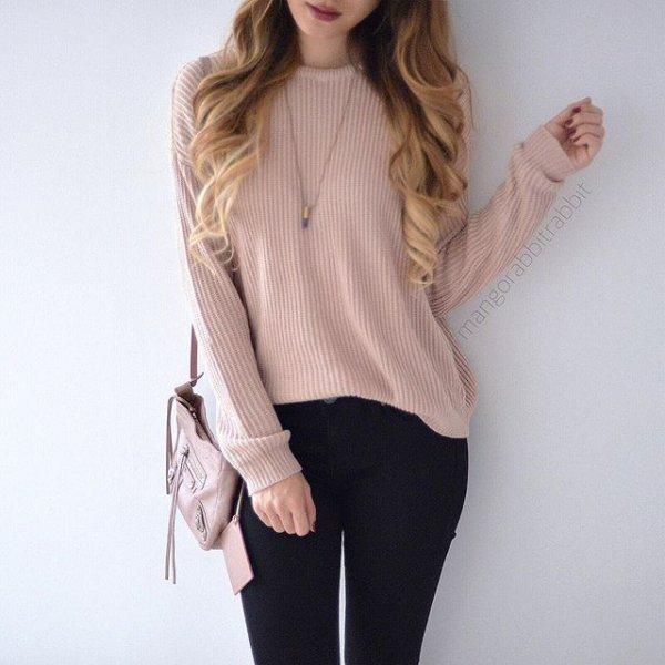 clothing, sleeve, leather, sweater, blouse,