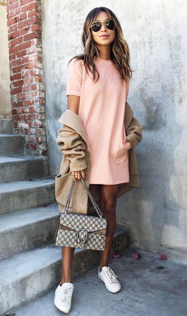 clothing, dress, footwear, sleeve, spring,
