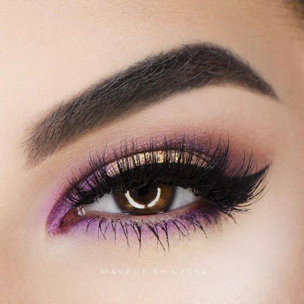 eyebrow, color, purple, eye, eyelash,