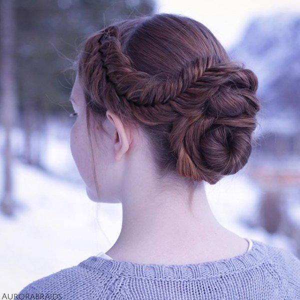hair, hairstyle, long hair, braid, bangs,