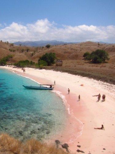 Beach Pink Barracks, Indonesia