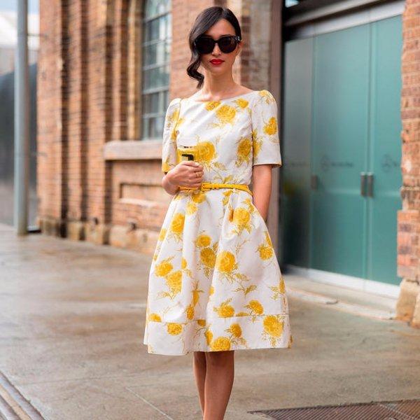 yellow, clothing, woman, dress, wedding dress,