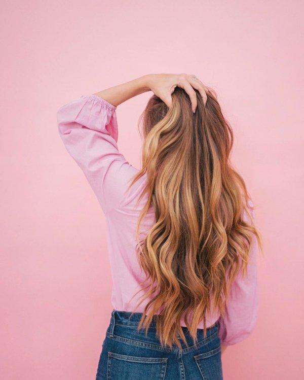hair, pink, clothing, hairstyle, long hair,