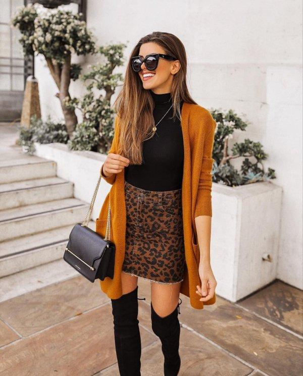 Clothing, Street fashion, Black, Shoulder, Orange,