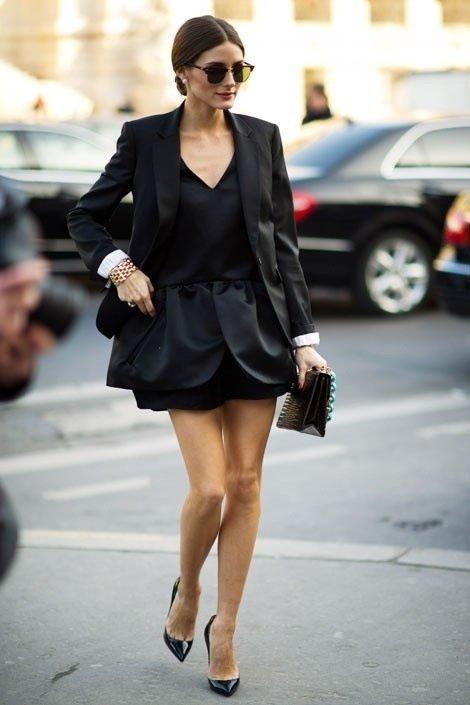 blazer, fashion model, little black dress, footwear, suit,