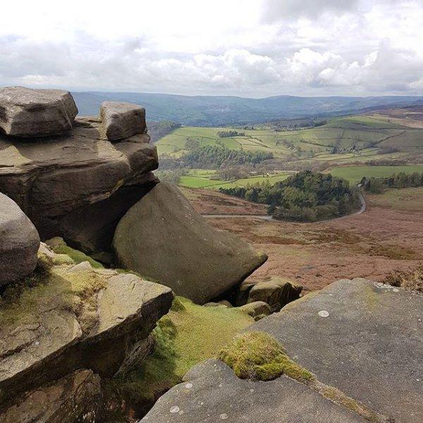 wilderness, rock, badlands, mountain, cliff,
