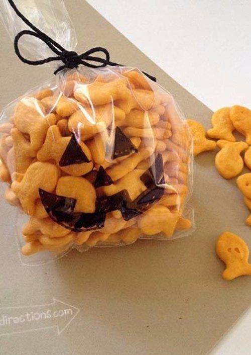 Goldfish Jack-o-lanterns