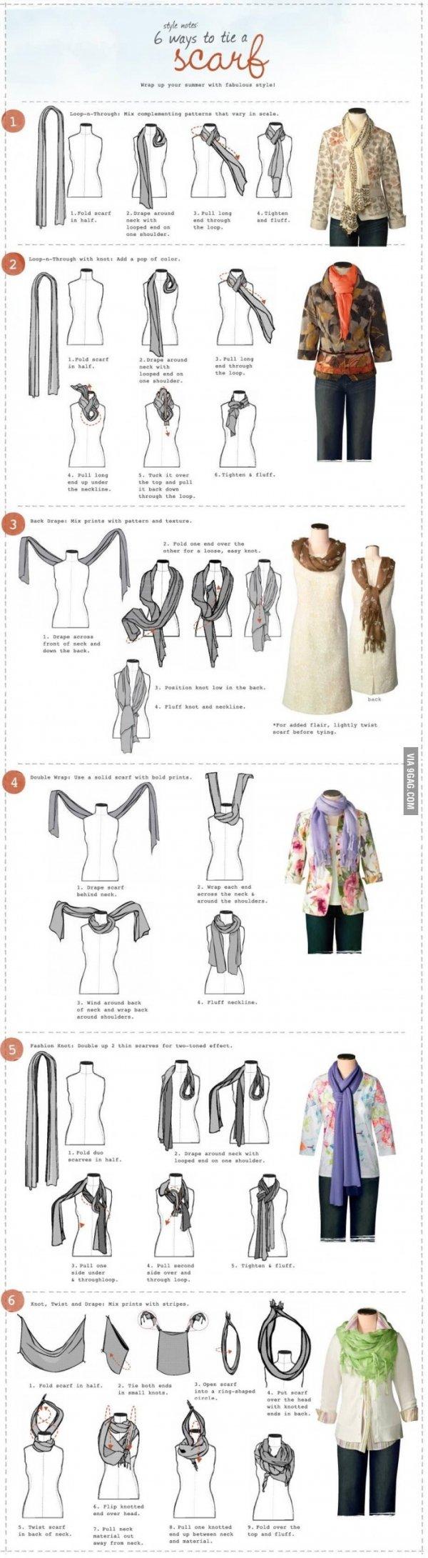 One Infographic, Six Ways