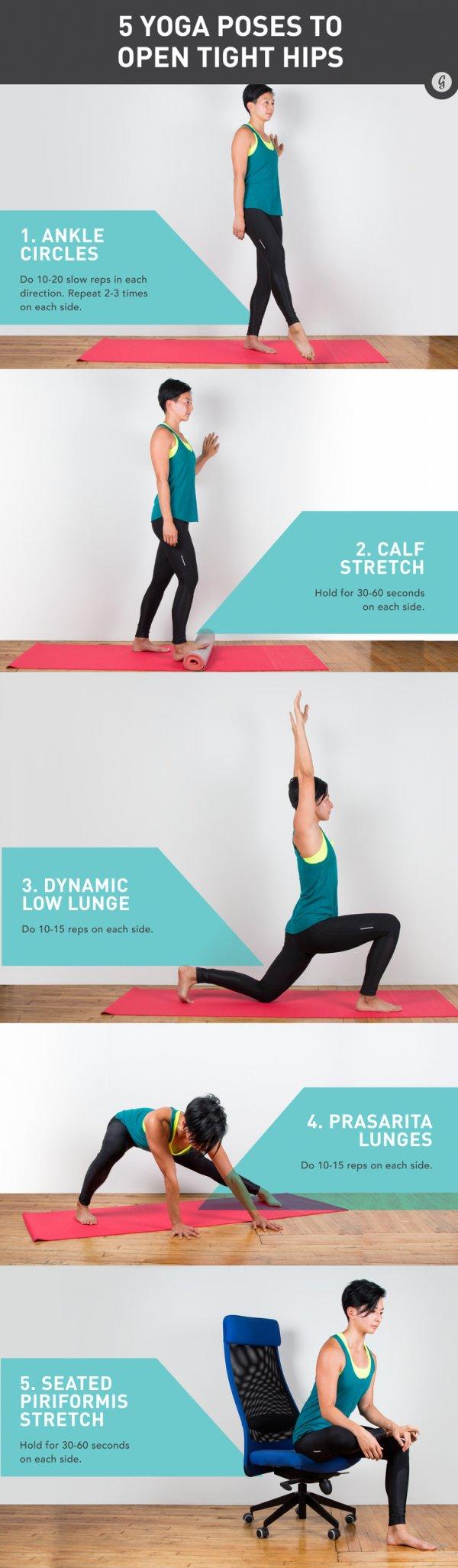 Ziehen Sie es heraus Hier ist ein wenig Yoga nur für Läufer...