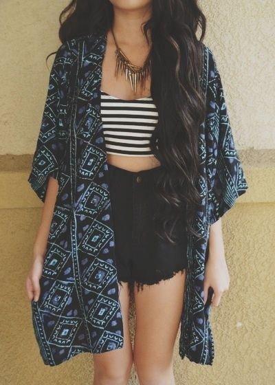 Triangle Kimono