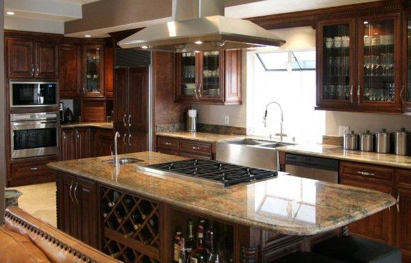 Under and behind Kitchen Appliances