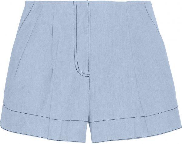 3.1 Phillip Lim Bonded Chambray Shorts