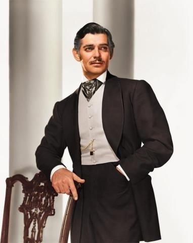 Clark Gable Playing Rhett Butler