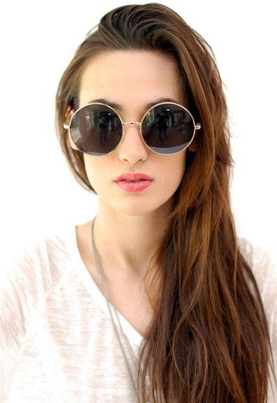 Wear Oversized Glasses