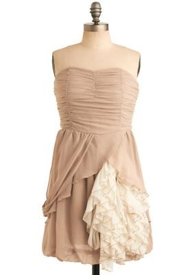 Latte Heart Dress
