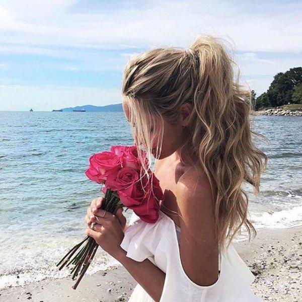 vacation, sea, person, ocean, shore,
