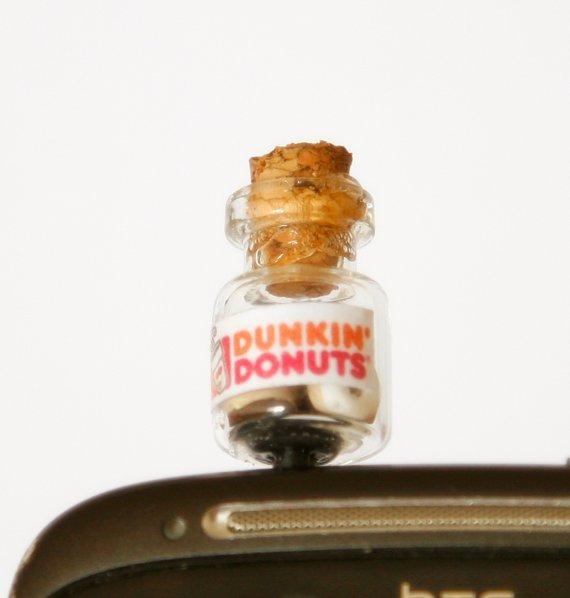Dunkin Donuts Bottle anti Dust Plug