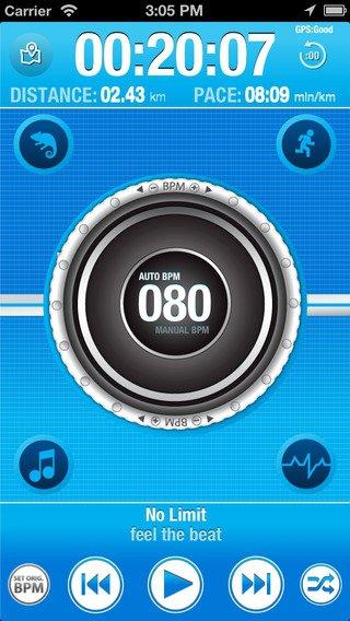 BeatRun Music GPS