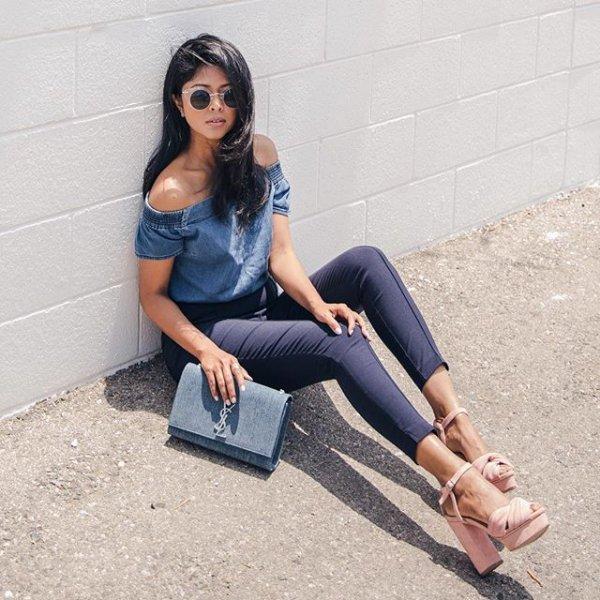 clothing, footwear, denim, human positions, sitting,