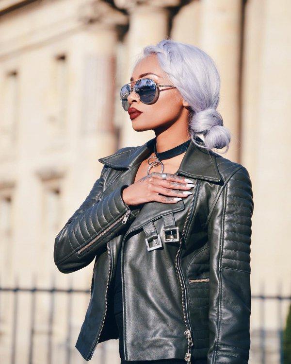 eyewear, jacket, leather jacket, sunglasses, vision care,